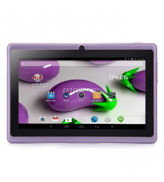 7 Inch Ewing Monster A33 Quad Core 1.5gHz 8GB Bluetooth Dual Camera Android 4.4 Tablet (Purple)