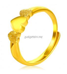 YOUNIQ Premium Eternal 24K Gold Plated Ring