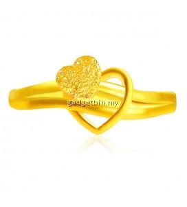 YOUNIQ Premium Cupid 24K Gold Plated Ring
