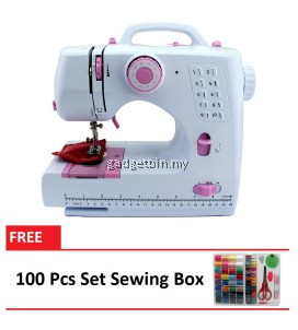 Sewing Machine HL-508B 10 sewing options FREE 100 Pcs Set Sewing Box