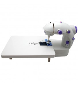 4 in 1 Dual Speed Portable Handheld Mini Sewing Machine With Expansion Board (Purple)