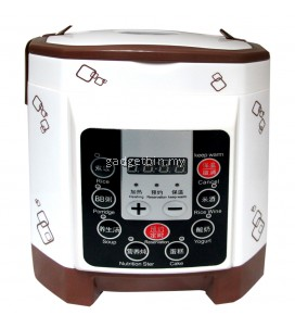2L Dual Language Muliti-Funtion Mini Rice Cooker With Timer