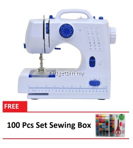 Sewing Machine HL-508A 12 sewing options FREE 100 Pcs Set Sewing Box