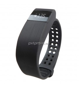 Makibes ID105 BT4.0 Heart Rate Monitor Smartband Pulse Sports Fitness Tracker for Android iOS (Black)