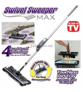 Swivel G8 Rechargeable Quad-Brush Sweeper Max