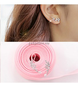 YOUNIQ-Basic Korean Leaves Earring