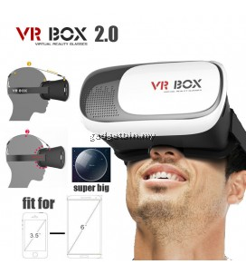 Ewing VR Box Version 2.0 Virtual Hame Glasses Cardboard kit for 4.5-6.0 inch phone