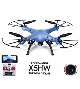 Syma X5HW WIFI FPV With 2MP HD Camera 2.4G 4CH 6Axis RC Quadcopter RTF