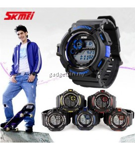SKMEI 0939 Men's Military Digital Date Calendar LED Sports Watch