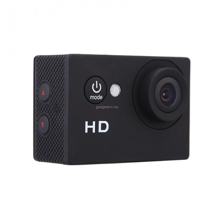 ewing 2 inch a7 720p hd sport dv camera diving 30m waterproof action camera. Black Bedroom Furniture Sets. Home Design Ideas