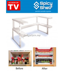 Spicy Shelf Stackable Organizer