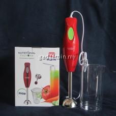 2 in 1 Nutritional Factors Hand Blender Stainless Steel Chopper Juicer