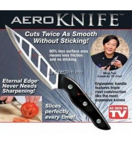 Aero Knife - Cleans Cuts Without Food Sticking Everytime!