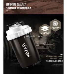 HeleMEI 500ml Smart Shake Gym Protein Shaker Sports Bottle