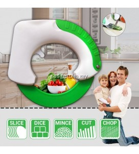 Bolo MultiFunctional Kitchen Rolling Knife For Minces Slices Dices