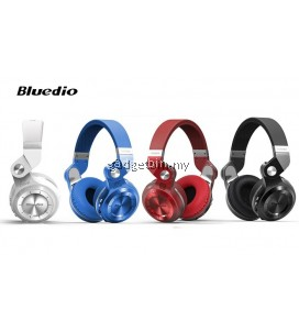 Bluedio T2+ Foldable Style Bluetooth V4.1 +EDR Wireless Stereo Headset Support TF Card with Mic