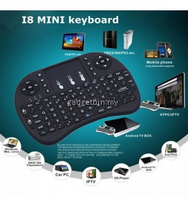 i8 Mini Wireless gaming Keyboard 2.4G Game Touch Pad Handheld for PC/Laptop/iPad/Android TV Box