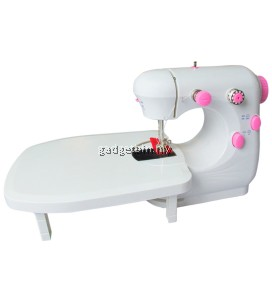 JYSM-301 Portable Dual Speed Mini Sewing Machine (Pink)