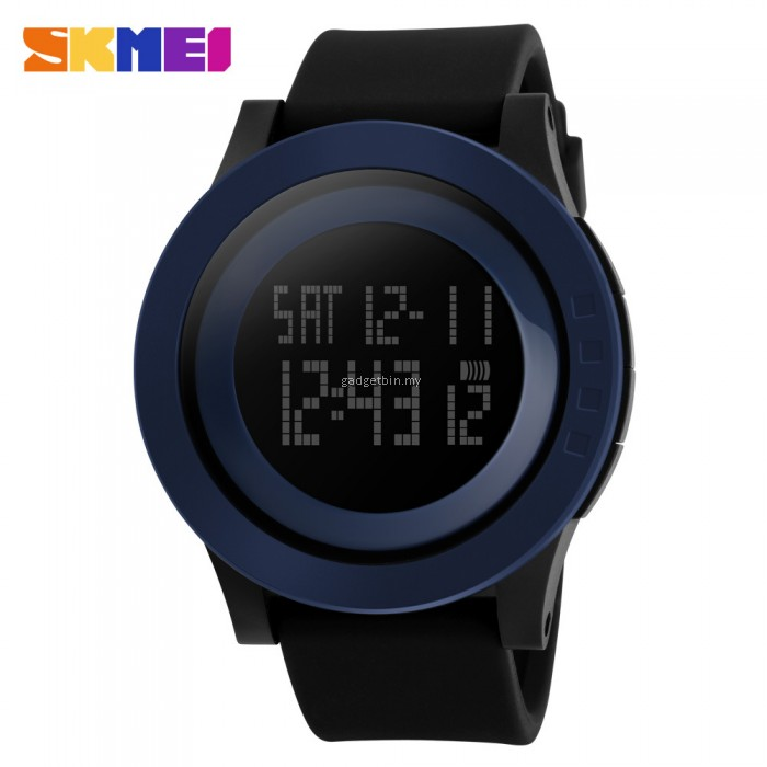 skmei 1142 s simple fashion big led digital