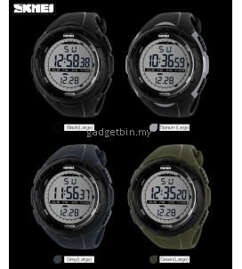 SKMEI 1025 Men's Military Sport Big Dial Digital Watch