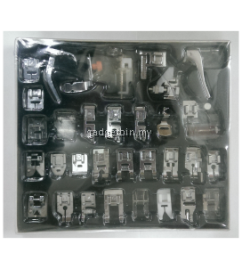32pcs Domestic 505/HL-508 Sewing Machine Presser Foot Set Kit