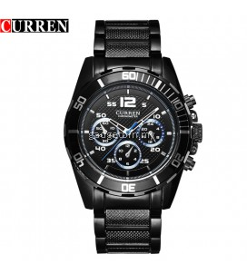 Curren 8073 Men's Fashion Stainless Steel Watch