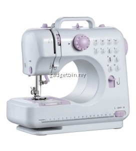 FSHM-505A Pro Upgraded 12 Sewing Options Mini Portable Handheld Sewing Machine (Purple)