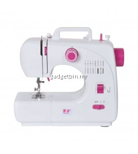 FangHua FSHM-508 Pro 12 Sewing Options Mini Portable Handheld Sewing Machine (Pink)