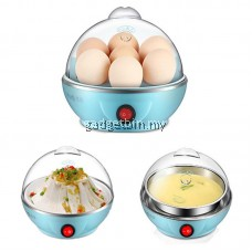 MultiFunction Electric Egg Cooker Boiler Steamer With Automatic Safe Power-off