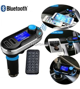 Wireless Bluetooth FM Transmitter MP3 Player Handsfree Car Kit