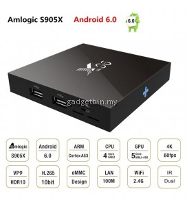 X96 Quad Core Amlogic S905X 1GB 8GB 4K HD Android 6.0 TV Box
