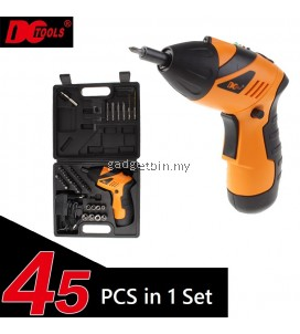 45 Pcs in 1 DCTOOLS S023 Transformable Cordless Electric Screwdriver Drill Tools Set