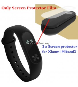 2 Pcs Screen protector For Xiaomi Miband 2 Mi Band 2