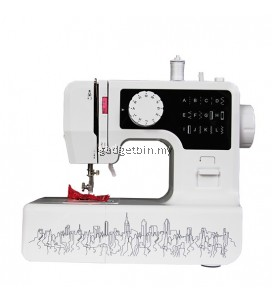 JG1602 Professional 12 Sewing Options Sewing Machine With Built-in Light