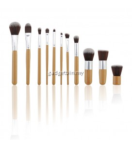 11 Pcs High Quality Professional Cosmetic Foundation Brush Eyeshadow Makeup Brush Set