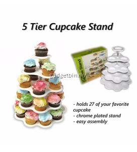 5 Tier CupCake Stand Bakery Crafts