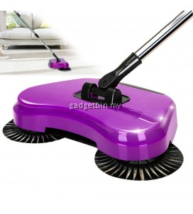 Luxe Household Handheld Automatic Whirlwind 360 Rotation Sweeper WIthout Electricity