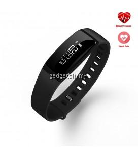 V07 Blood Pressure Heart Rate Monitor Fitness Tracker Bluetooth Smartband (Black)