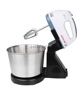 HAOTENG Stainless Steel Stand Mixer With Detachable Bowl