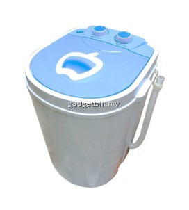 (Msia Plug) 3kg Semi Auto Mini Washing Machine