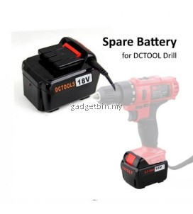 Replacement 18V Battery For DCTOOLS D017 Power Drill