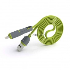 PINENG PN-301 Transformer 2 in 1 Data & Charging Cable For IOS & Android