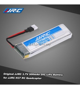 Original JJRC 3.7V 500mAh 20C LiPo Battery for JJRC H37 Selfie RC Quadcopter Drone