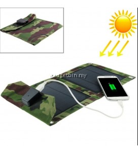EWING Portable Foldable Outdoor 2 Solar Panel Charger Cover Solar Powerbank