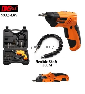46 Pcs in 1 DCTOOLS S032 Transformable Cordless Electric Screwdriver Drill Tools Set With Flexible Shaft
