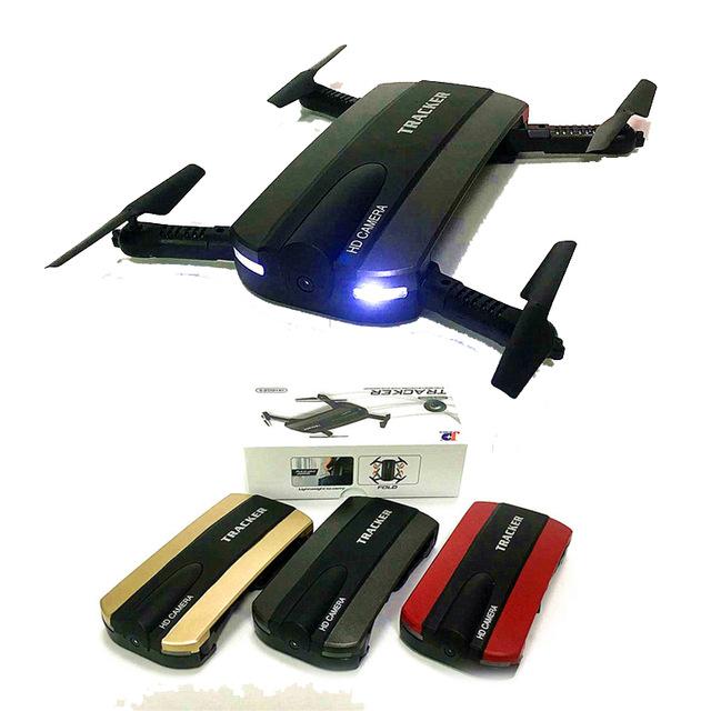JXD 523 WiFi FPV Camera HD Foldable Selfie Mini Quadcopter Drone