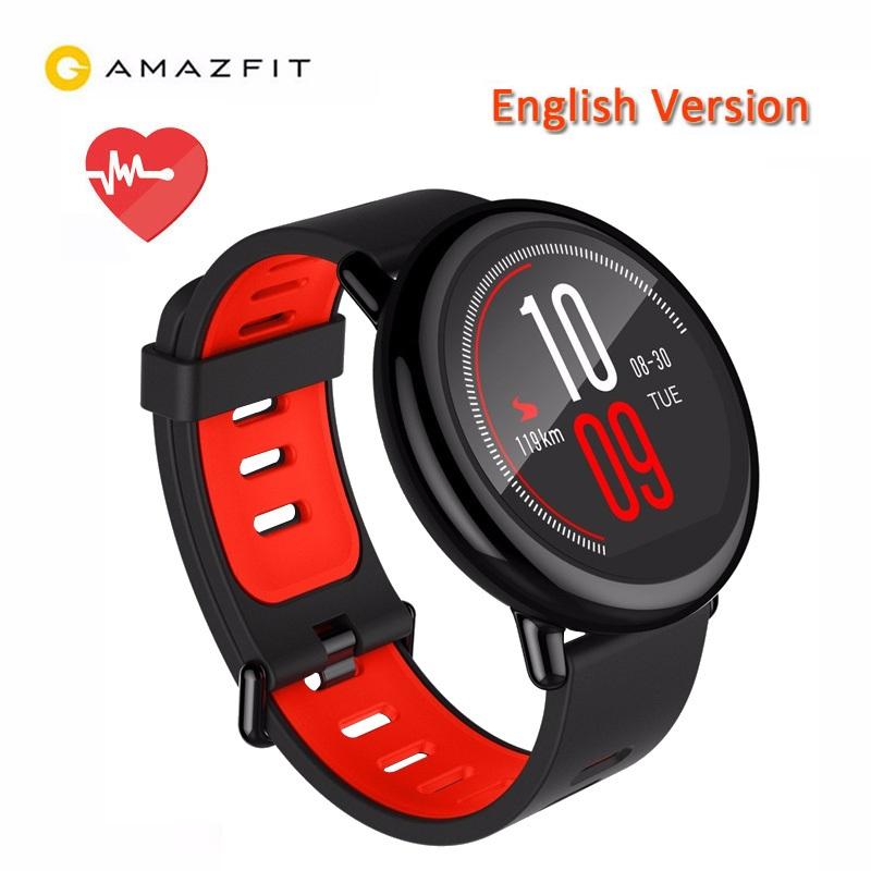 Xiaomi Huami AMAZFIT Bluetooth GPS IP67 Waterproof Sports Smart Watch (Black)