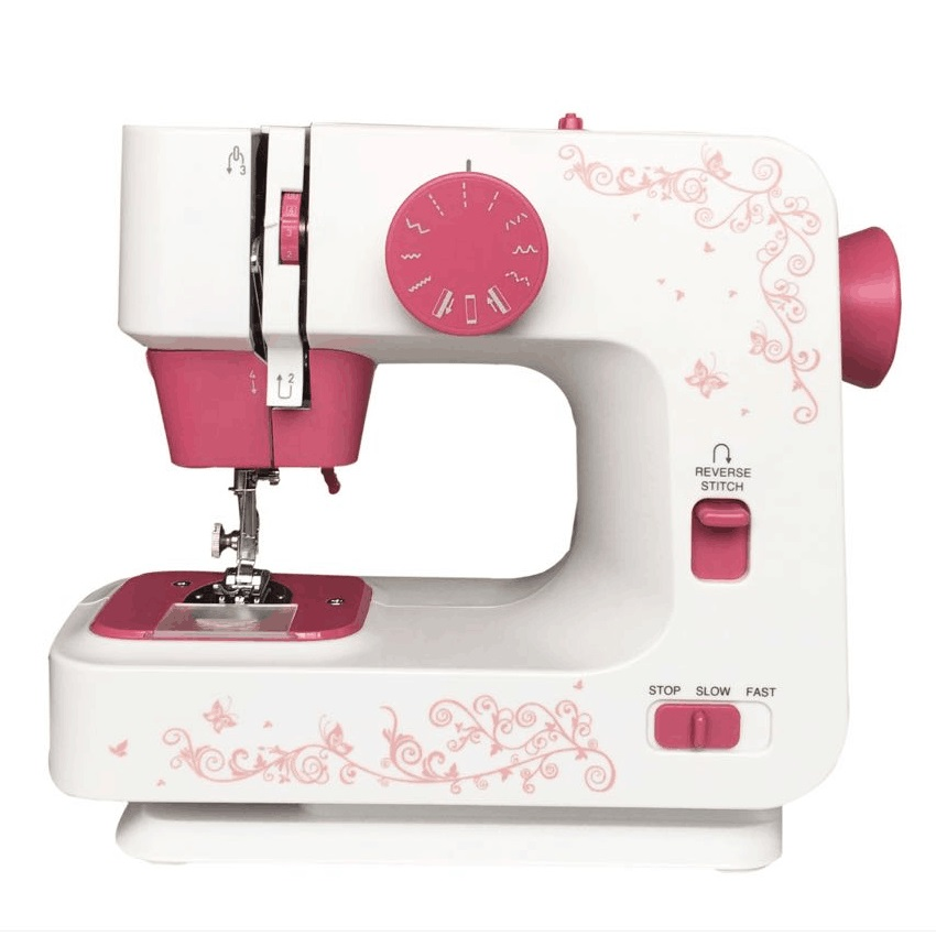 JG1501 Professional 12 Sewing Options Aluminium Alloy Holder Sewing Machine With Built-in Light
