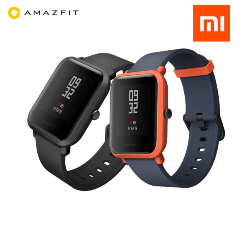 Xiaomi Huami Amazfit Midong Heart Rate Monitor LCD Display Fitness GPS Smart Watch