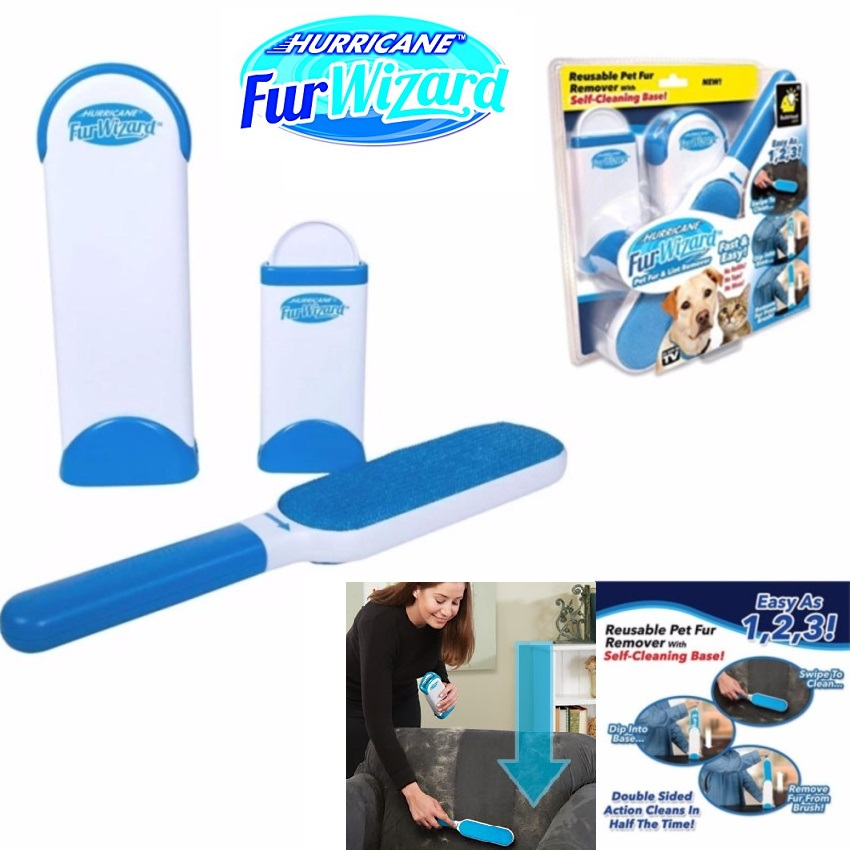Hurricane Fur Wizard Pet Hair Fur Remover